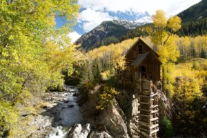 The Crystal Mill near Marble, CO.